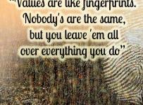 values-are-like-fingerprints