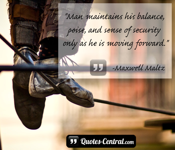 man-maintains-his-balance