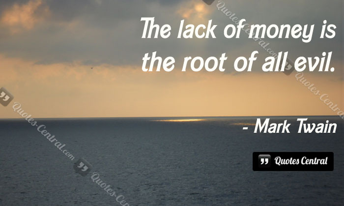 the-lack-of-money