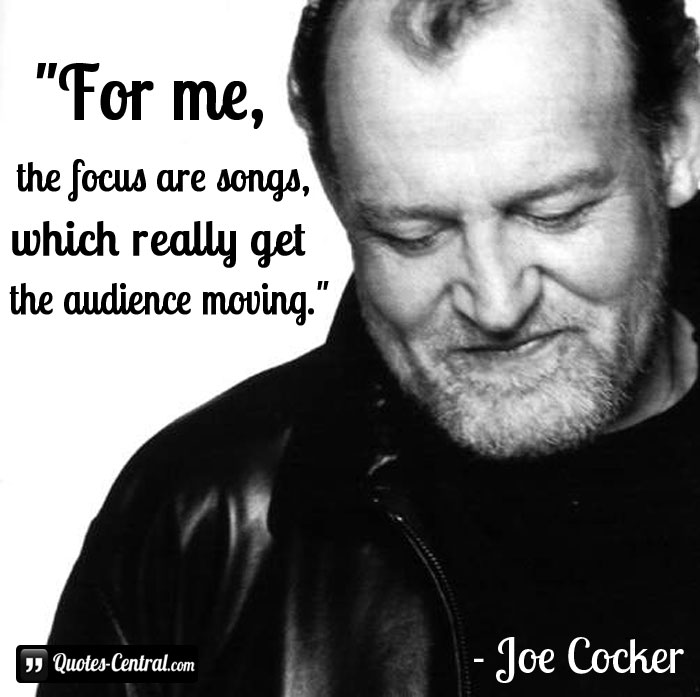 for-me-the-focus-are-songs