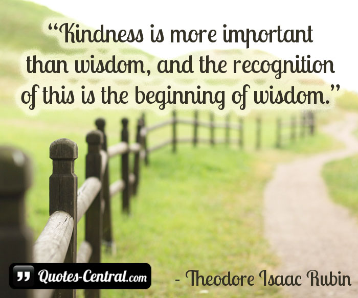 kindness-is-more-important-than-wisdom