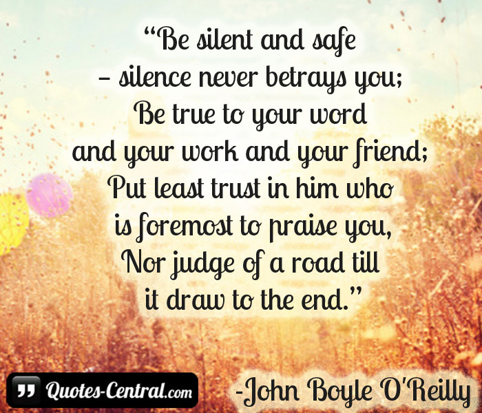 be-silent-and-safe-silence-never-betrays