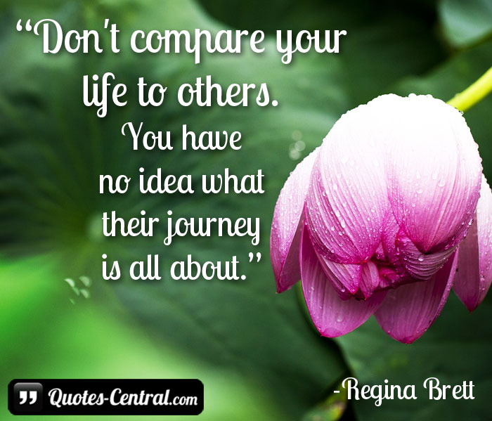 don't-compare-your-life-to