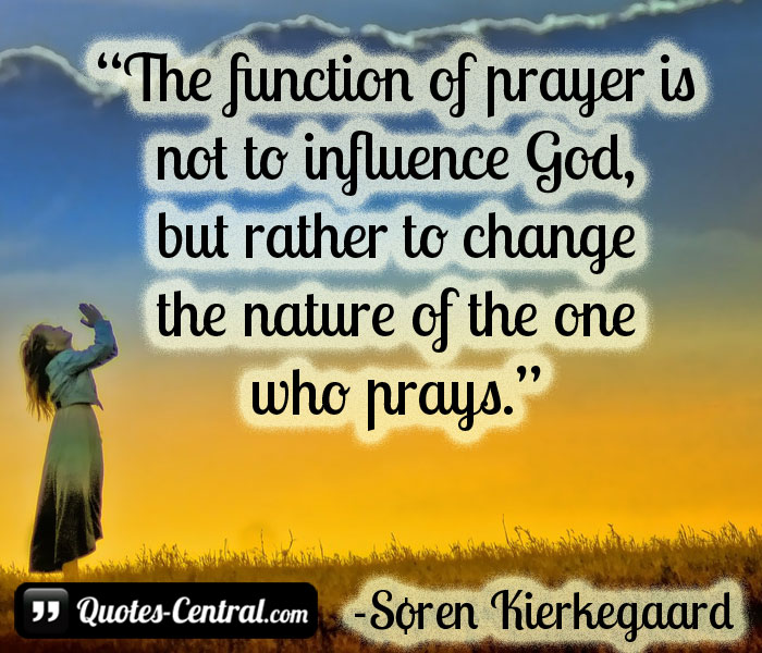 the-function-of-prayer-is