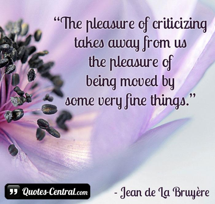 the-pleasure-of-criticizing