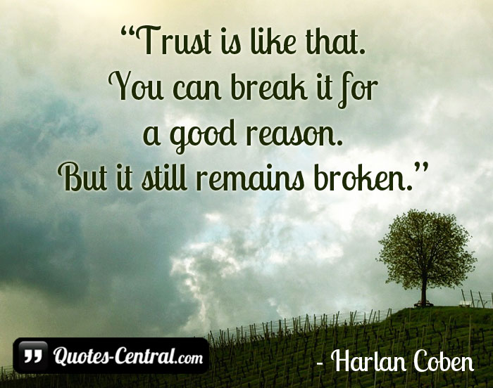 trust-is-like-that