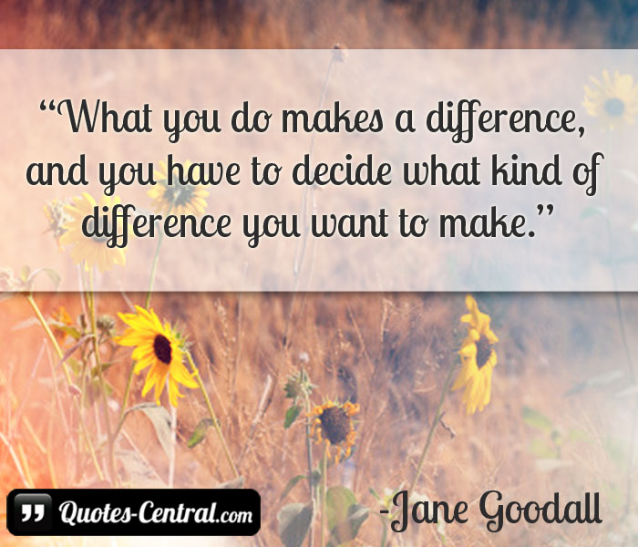 what-you-do-makes-a-difference