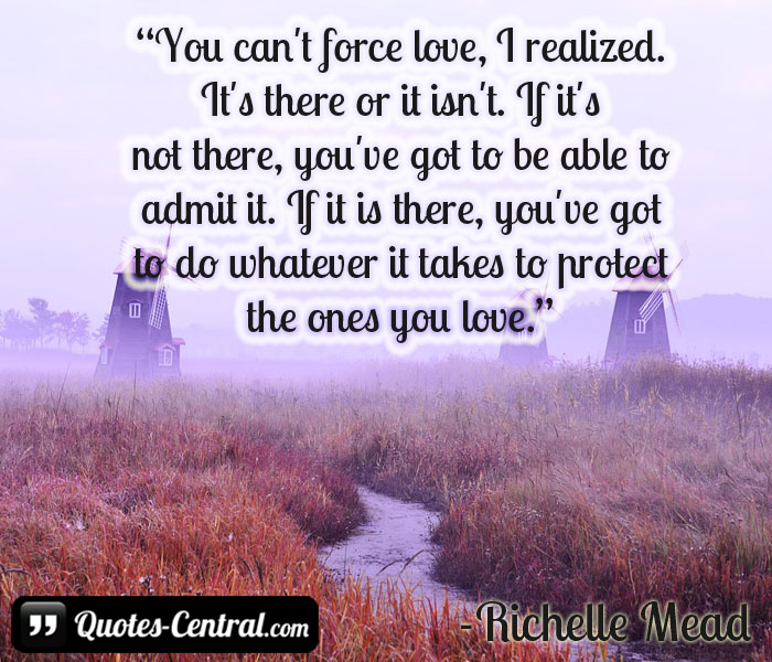 you-can't-force-love-i-realized