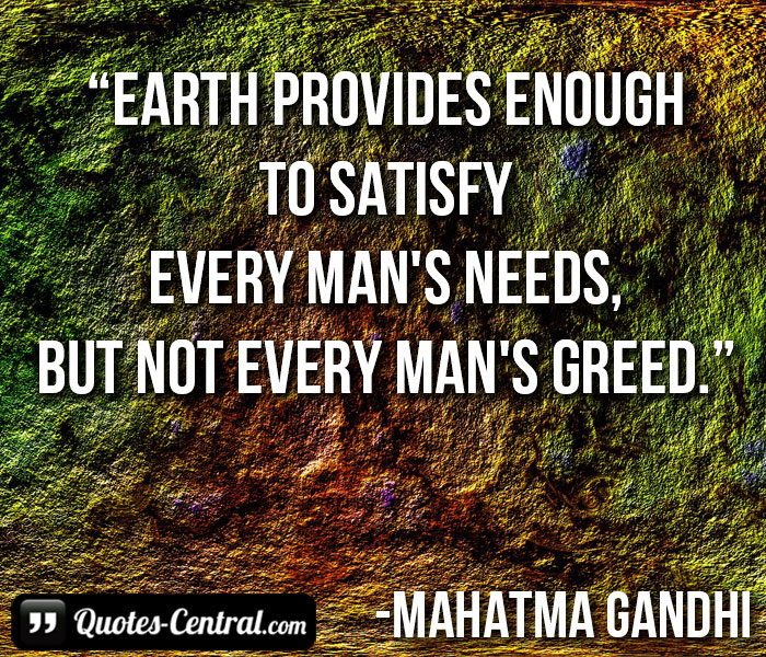 earth-provides-enough-to