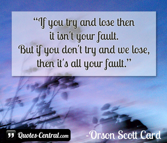 if-you-try-and-lose-then
