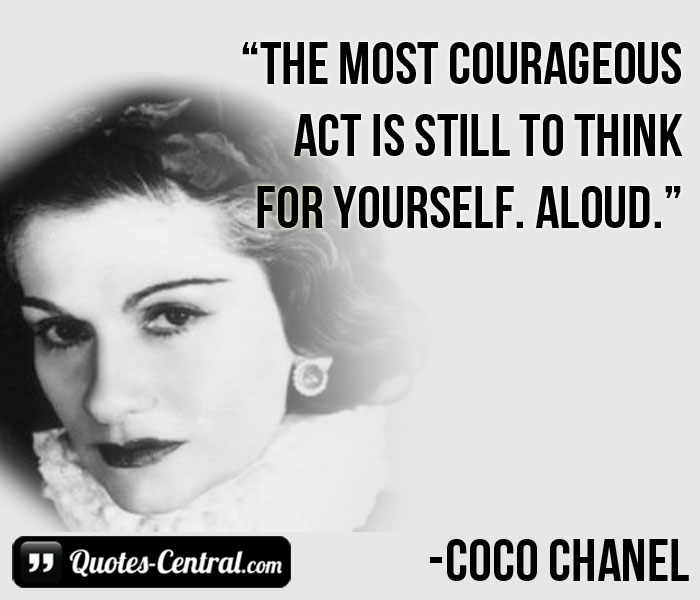 the-most-courageous-act-is