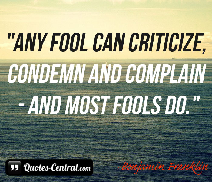 any-fool-can-criticize