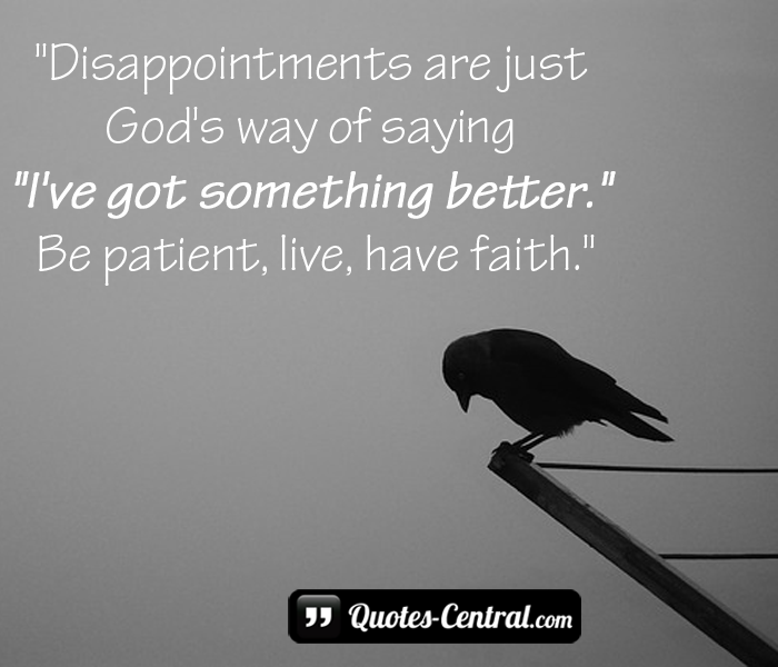 disappointments-are-just-gods-way-of