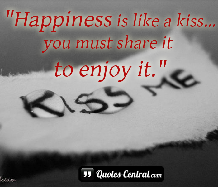 happines-is-like-a-kiss