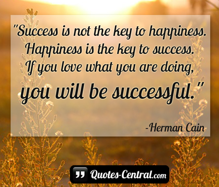 success-is-not-the-key-of-happines