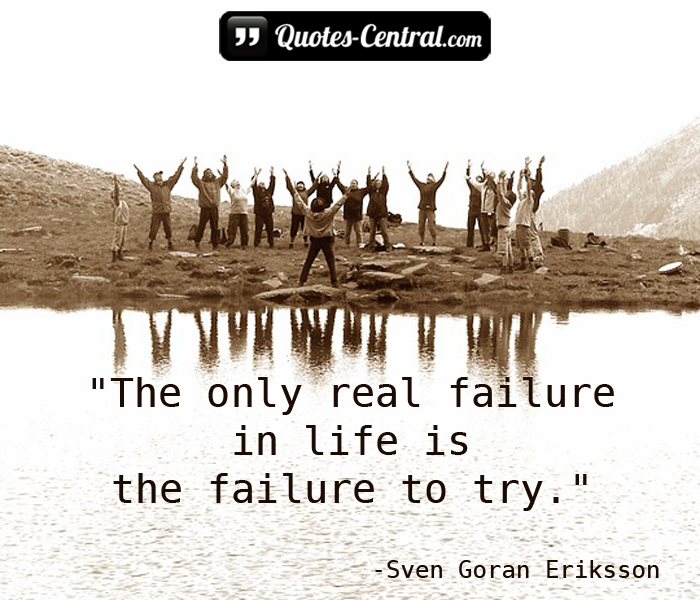 the-only-real-failure-in-life