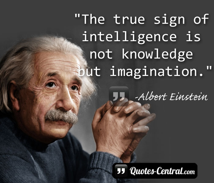 the-tru-sign-of-intelligence-is-not-knoledge