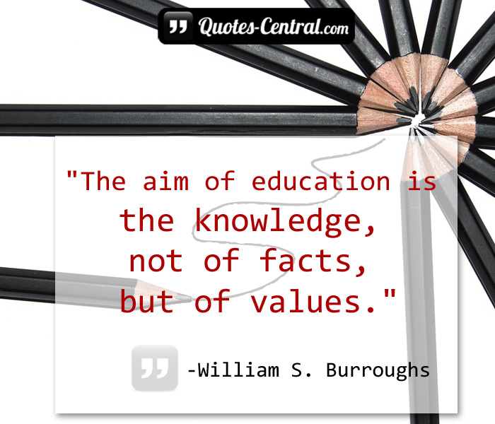 the-aim-of-education-is-the-knowledge-not-of-fact